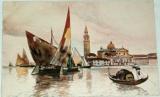 Benátky - Venezia - Isola di S. Giorgio cca 1920