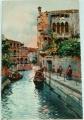 Benátky - Venezia - Rio delle Maravegie cca 1920