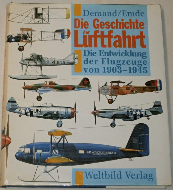 Demand , Emde - Die Geschichte der Luftfahrt