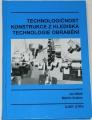 Mádl, Vrabec - Technologičnost konstrukce z hlediska technologie obrábění