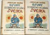 Hašek Jaroslav - Osudy dobrého vojáka Švejka (2 svazky)
