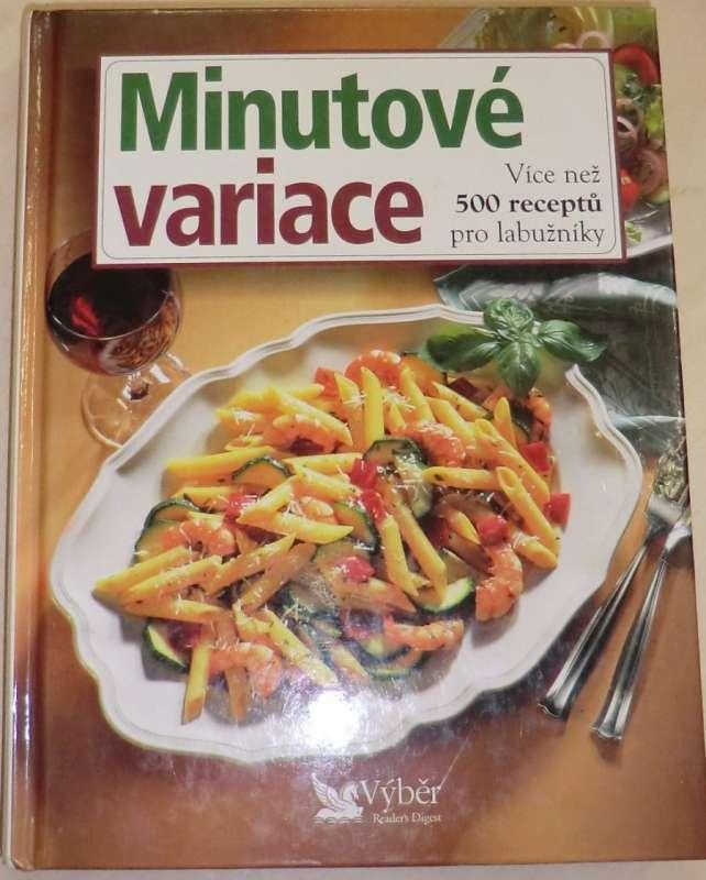 Minutové variace - více než 500 receptů