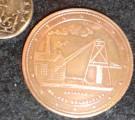 New Zealand Penny Token 1874