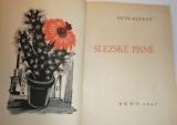 Bezruč Petr - Slezské písně (autogram)