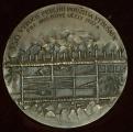 medaile - 350. výročie prvého použitia výbušnín sign. Peter