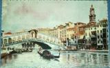 Benátky - Venezia Ponte di Rialto cca 1920