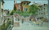 Benátky - Venezia - Rio delle Torreselle cca 1920