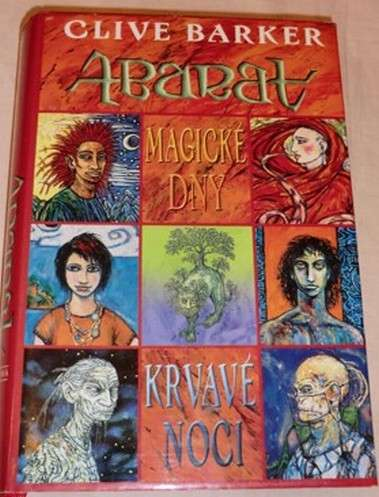 Barker Clive - Abarat - Magické dny, krvavé noci