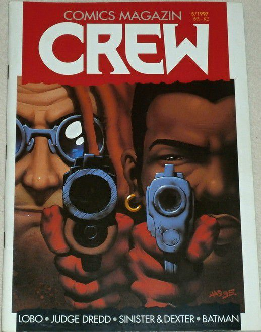 Comics magazin - Crew 5/1997
