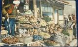 Bosna a Hercegovina - mohamedánský prodavač zeleniny 1914