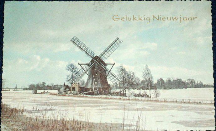 Holandsko - větrný mlýn