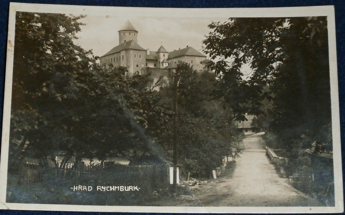 hrad Rychmburk 1932