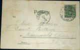 Německo - Dresden 1901 litografie