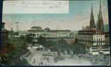 Německo - Dresden Postplatz 1906