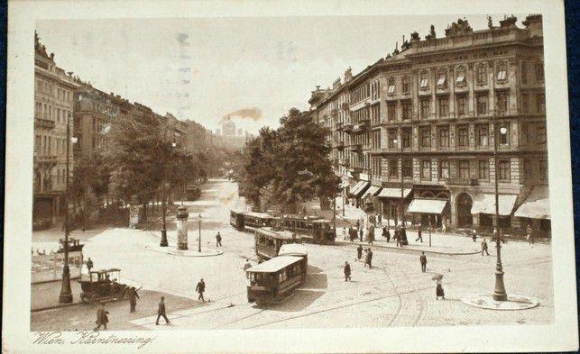 Rakousko - Wien Kartnerring 1927
