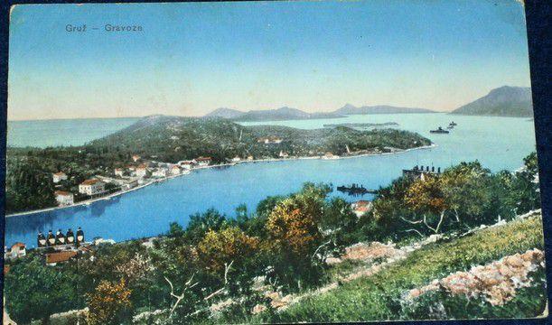 Chorvatsko - Gruž - Gravoze cca 1910