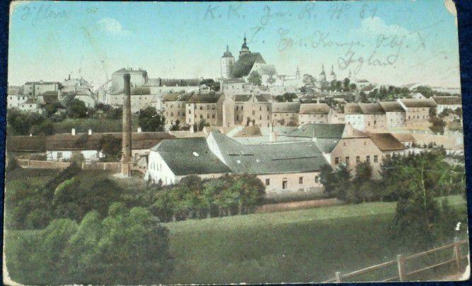 Jihlava - Iglau - celkový pohled cca 1920