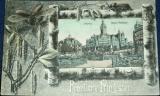 Německo - Lipsko - Leipzig Neues Rathaus 1907