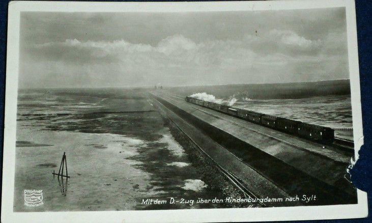 Německo - Sylt: Mit dem D-Zug über den Hindenburgdamm