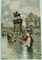 Benátky - Venezia - Monumento a Colleoni cca 1920
