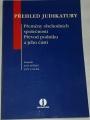 Dědič Jan, Lasák Jan - Přehled judikatury