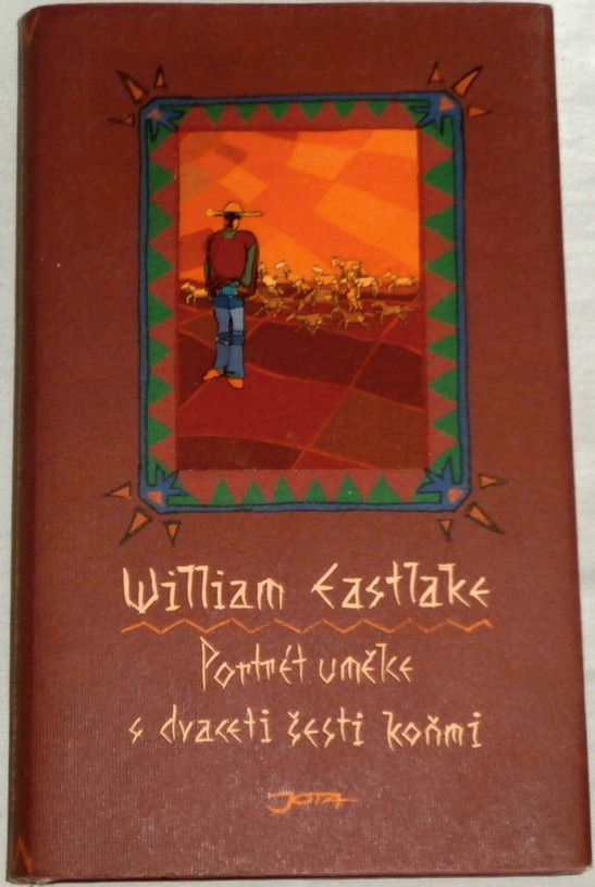 Eastlake William - Portrét umělce s dvaceti šesti koňmi