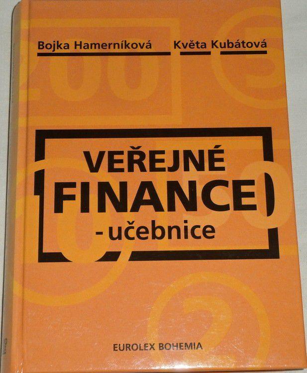 Hamerníková Bojka, Kubátová Květa - Veřejné finance