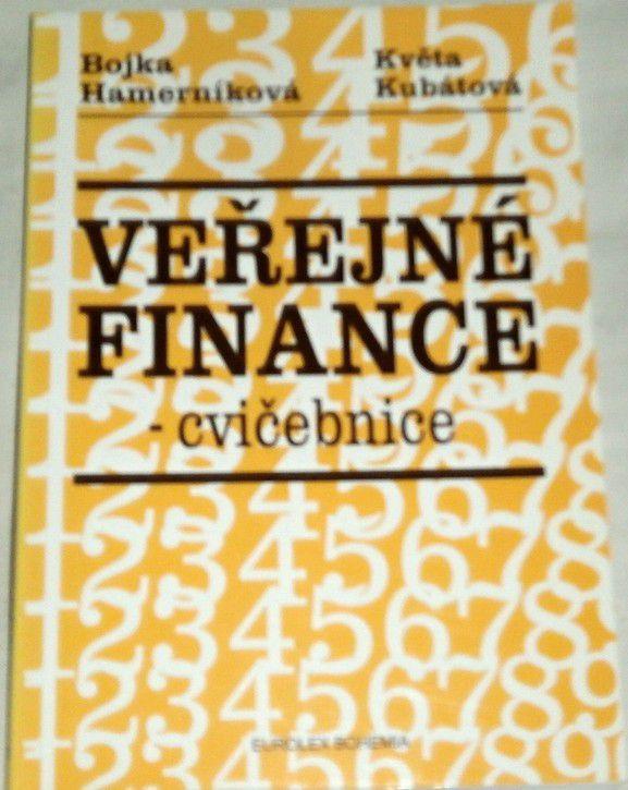 Hamerníková Bojka, Kubátová Květa - Veřejné finance: Cvičebnice
