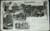 Karlov Vary - Gruss aus Karlsbad 1898 litografie
