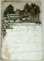 Německo - Ungerberg (Neustadt) 1900 litografie