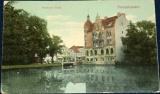 Německo - Neumünster: Partie am Teich 1909