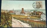 Německo - Rüdesheim vinice 1938