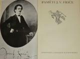 Paměti J. V. Friče