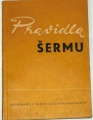 Čivrný Čestmír - Pravidla šermu platná od 1. ledna 1962