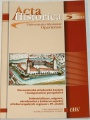 Acta historica Universitatis Silesianae Opaviensis 5/2012