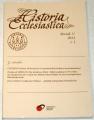 Historia Ecclesiastica ročník V. 2014 č. 1