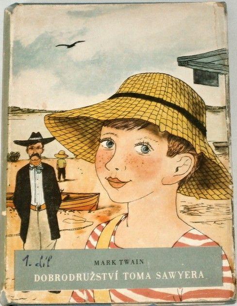 Twain Mark - Dobrodružství Toma Sawyera