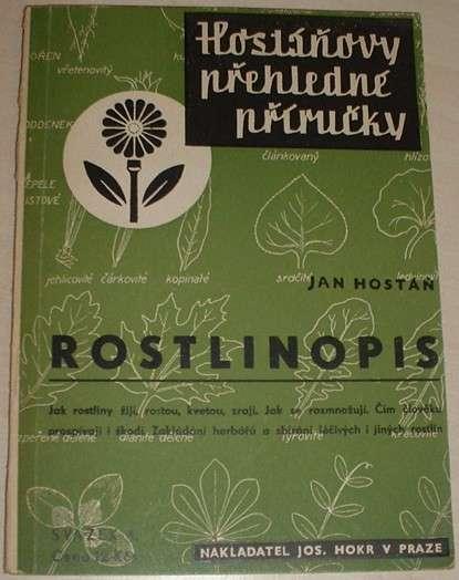 Hostáň Jan - Rostlinopis