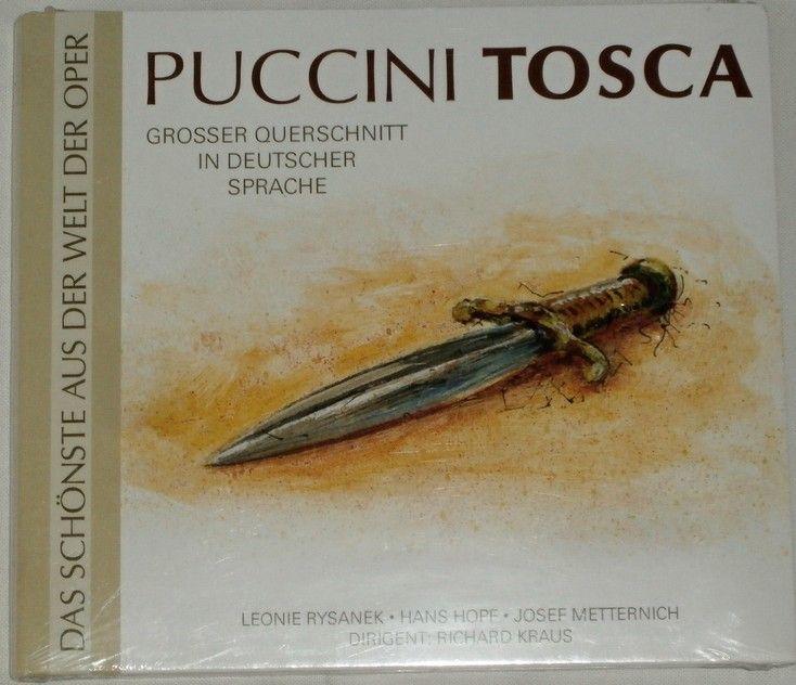 CD Giacomo Puccini - Tosca