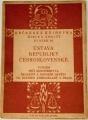 Občanská knihovna,  svazek 10 - Ústava republiky Československé