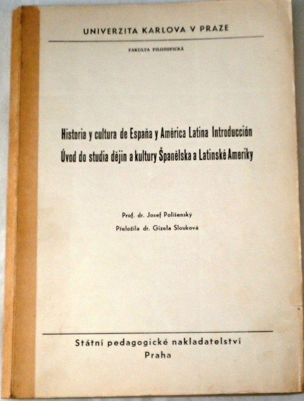 Polišenský J. - Úvod do studia dějin a kultury Šanělska a Latinské Ameriky