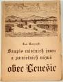 Tvrzník Jan - soupis místních jmen a pomístních názvů obce Lenešice