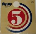 LP Ruleta 5 - Jugoslávské rockové skupiny