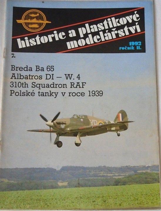 Historie a plastikové modelářství č. 7/1992 ročník II.