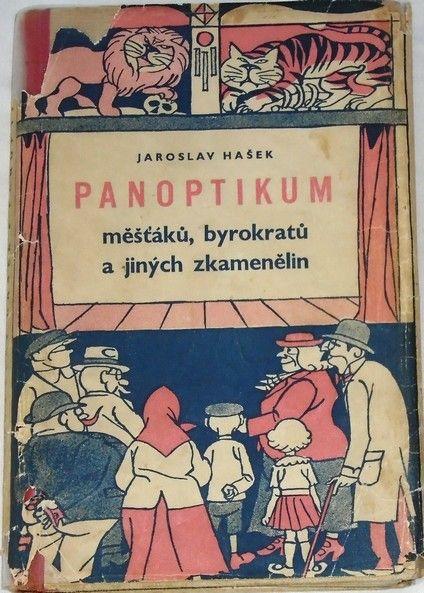 Hašek J. - Panoptikum měšťáků, byrokratů a jiných zkamenělin