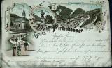 Březová - Gruss aus Pirkenhammer 1898