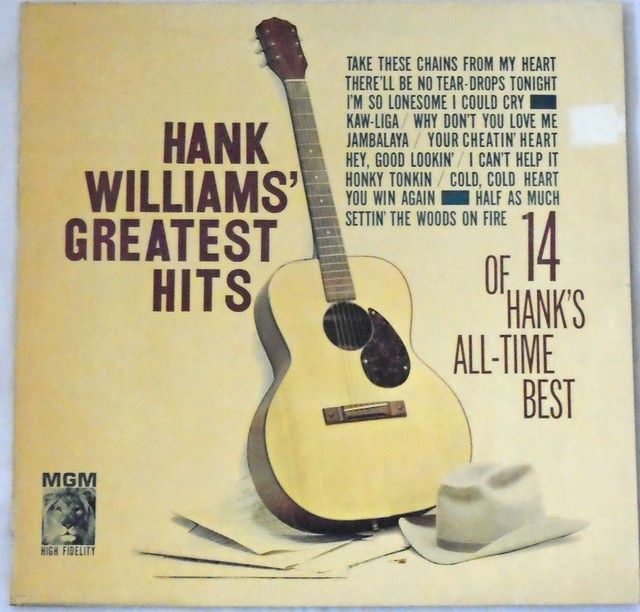 LP Hank Williams - Greatest Hits