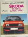 Andrt J. - Údržba a opravy automobilů Škoda 105, 120, 130, Garde, Rapid