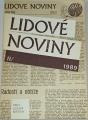 Lidové noviny 1989