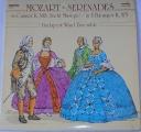LP Wolfgang Amadeus Mozart - Serenades in C minor K. 388, in E flat major K 375